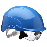 Centurion Spectrum Safety Helmet with Eye Protection - Blue