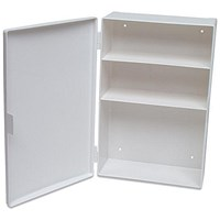 Metal Cabinet with 50 Person First-Aid Compliance Kit
