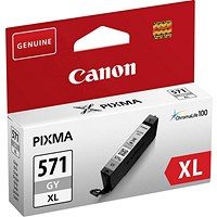 Canon CLI-571XL High Yield Grey Inkjet Cartridge