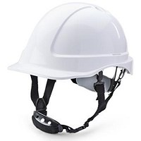 B-Brand Reduced Peak Helmet - White