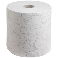Kleenex 6780 Ultra Hand Towel Rolls, 2-Ply, White, Pack of 6