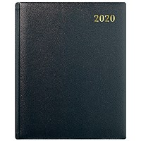 Collins 2020 Classic Appointment Business Diary, Week to View, Quarto, Black