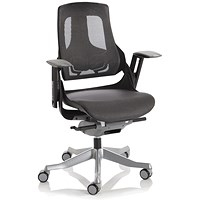 Adroit Zure Mesh Executive Chair, Charcoal