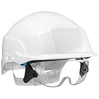Centurion Spectrum Safety Helmet with Eye Protection - White