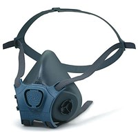 Moldex Mask Body, Lightweight, Small, Grey