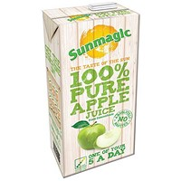 Sunmagic Pure Apple Juice - 12 x 1 Litre Cartons
