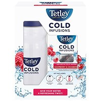 Tetley Cold Infusions Raspberry and Cranberry Starter Kit