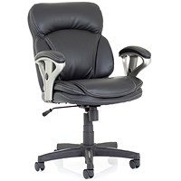 Trexus Photon Leather Executive Chair - Black