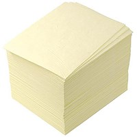 JSP Chemical Cleaning Pads Absorbent Meltblown Polypropylene Ref PJC002-500-000 [Pack 100]