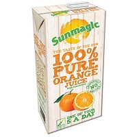 Sunmagic Pure Orange Juice - 12 x 1 Litre Cartons
