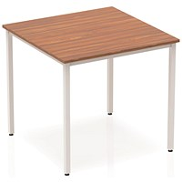 Trexus Square Table, 800mm, Walnut
