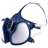 3M A2 P3 Organic Gas/Vapour and Particulate Respirator - Blue