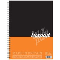 Silvine Wirebound Notebook, A4, Ruled & Perforated, Punched, 160 Pages, Pack of 6