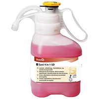 Taski Sani Concentrated Washroom Cleaner - 1.4 litres