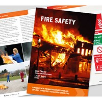 Click Medical Fire Safety Book, Comprehensive Manual, Fully Illustrated