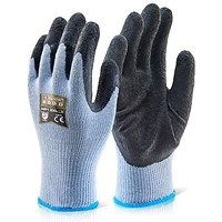 Click 2000 Multi-Purpose Gloves, Large, Black, Pack of 100