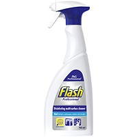Flash Professional Antibacterial Cleaning Spray - 750ml