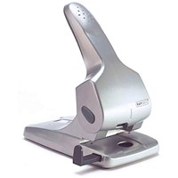 Rapesco Zero 65 Heavy-duty 2-Hole Punch, Silver, Punch capacity: 65 Sheets