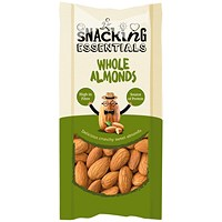 Snacking Essentials Whole Almonds Shot Packs - Pack of 16