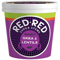 Red-Red Smoky Okra and Lentils Super Stew - Pack of 6