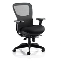 Adroit Stealth Shadow Ergo Posture Chair, Airmesh Seat, Mesh Back, Black