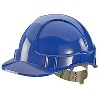 B-Brand Comfort Vented Safety Helmet - Blue