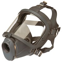 Scott Safety Sari Full Face Mask, Adjustable Harness, Grey
