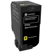 Lexmark CS720/CS725 Yellow Laser Toner Cartridge