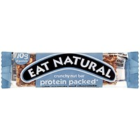 Eat Natural Crunchy Nut Peanuts and Chocolate bar, 45g, Pack of 12