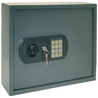 High Security Key Safe, Electronic Key Pad, 60 Key Capacity, 30mm Double Bolt Locking
