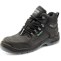Click Traders Click Hiker Boots, S3, PU/Leather, TPU, Size 6.5, Black