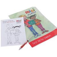 Click Medical Kids First Aid Pack/Pen