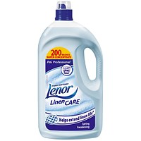 Lenor Professional Spring Awakening Fabric Softener, 4 Litres