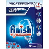 Finish Professional Powerball Dishwasher Tablets - Pack 125