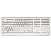 Cherry Ultra Flat USB Keyboard, Heat-sealed, Grey