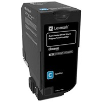 Lexmark CS720/CS725 Cyan Laser Toner Cartridge