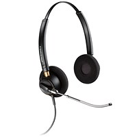 Plantronics EncorePro HW520 Duo VT QD Headset Ref 89436-02