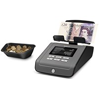 Safescan 6165 Money Counting Scale 0.66kg L223xW142xH147mm Black/Grey