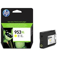HP 953XL High Yield Yellow Ink Cartridge