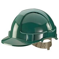 B-Brand Comfort Vented Safety Helmet - Green
