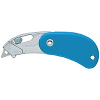 Pacific Handy Cutter Pocket Safety Cutter, Blue, Pack of 12