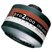 Scott Pro 2000 CF22 A2P3 Filter, 40mm Thread, Grey