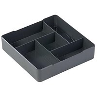 Durable Coffee Point High Quality Case, Square Serving Aid, Charcoal