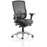 Sonix Regent Task Operator Chair, Mesh Back, Black