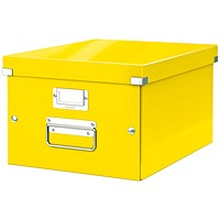 Leitz Click & Store Medium Storage Box for A4 - Yellow