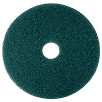 Maxima 13in Floor Polish Pads / Green / Pack of 5
