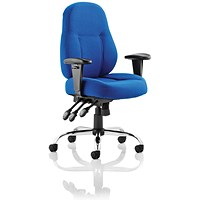 Trexus Storm Task Operator Chair, Blue