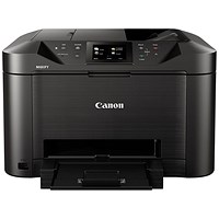 Canon Maxify MB5155 Inkjet Printer, Multifunctional, A4, Black, Ref 0960C028