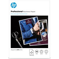 HP A4 Matt Laser Photo Paper, White, 200gsm, Pack of 150 Sheets