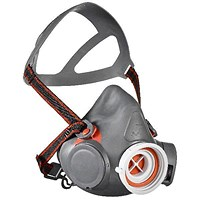 Scott Aviva 40 Half Mask with Reflex Seal, Small, Grey